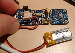 Overview of rocket altimeter circuit